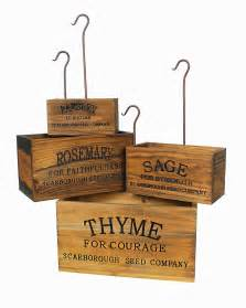herb boxes farmhouse musings vintage style nesting herb crates
