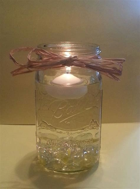 wedding jars and centerpieces on pinterest