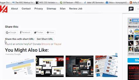 membuat website url shortener membuat google url shortener untuk share artikel
