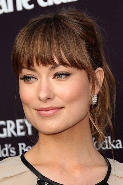 hair bangs short blunt square face how to find the most flattering bangs for your face shape