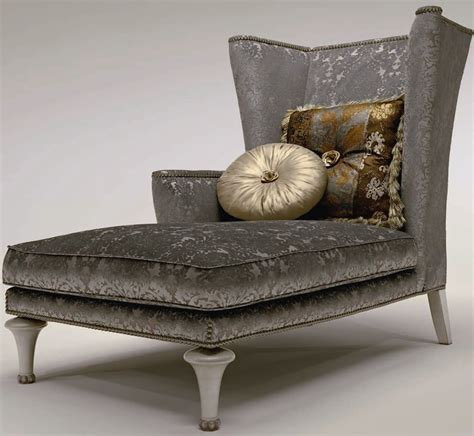 luxury chaise lounge chairs winged chaise lounge chair