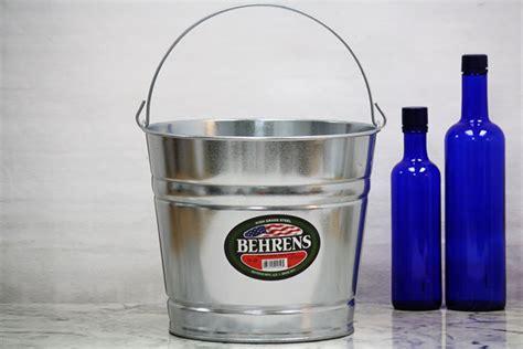10 Quart Galvanized - 10 quart galvanized metal galvanized buckets