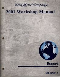 car maintenance manuals 2001 ford escort head up display 2001 ford escort workshop manual 2 volumes