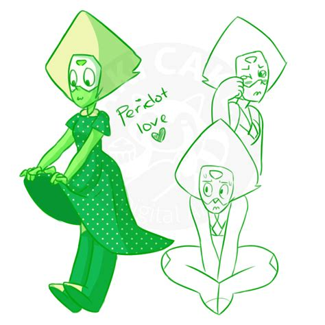 Perakclean Green Peridot Peridote Pridot peridot is a bab by sakicakes on deviantart