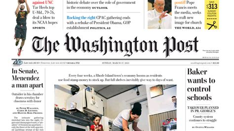 washington post health section one click payment tracking jeff bezos washington post