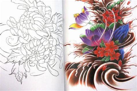 tattoo flash lotus flower image gallery japanese flower sketch