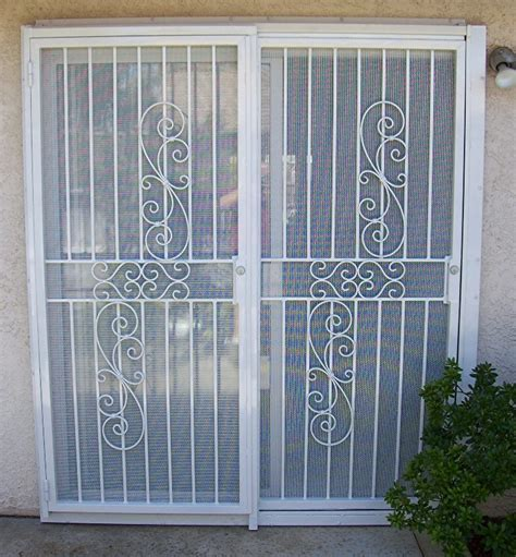 sliding patio door security door security patio door security door