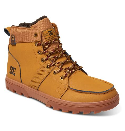 s woodland outdoor winter boots 303241 dc shoes