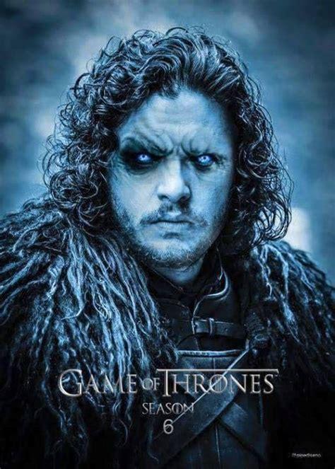 game  thrones season  poster jon snow trotineta
