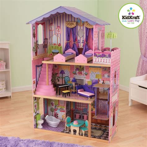 doll house with elevator kidkraft my dream mansion wooden dollhouse gliding elevator 13 wooden furniture ebay