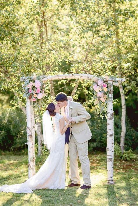 Wedding Arch Rental Utah by 31 Charming Woodland Wedding Arches And Altars Weddingomania