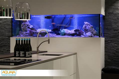 aquarium design ken au four design keuken aquaja diamond