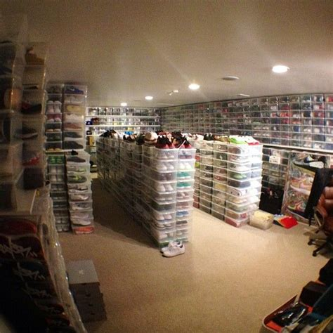 Sneaker Closet by Sneaker King Mayers Shoe Closet Room Swagger