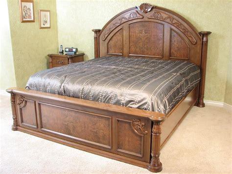 zongkers handcrafted bedroom furniture