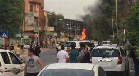 consolato iraq iraq autobomba esplode davanti al consolato usa di erbil