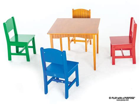 primary colors daycare square primary colors table with chairs play with a purpose