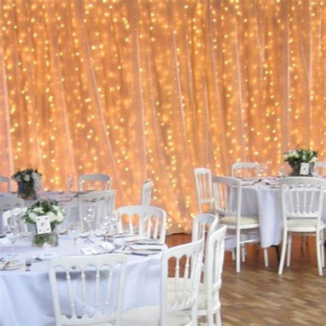 White 20' X 10' Chiffon Backdrop Event Reception