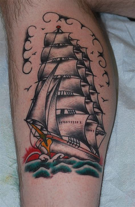 traditional ship tattoo ship on ship tattoos ships and ships