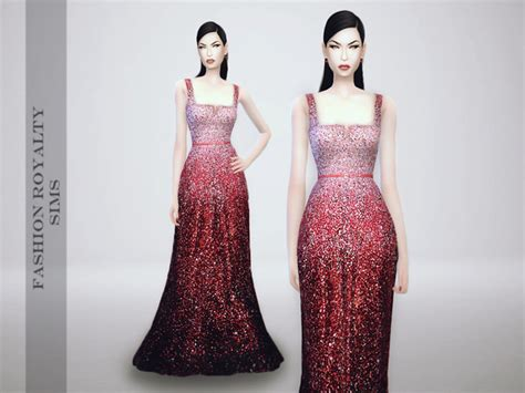 is ombre still in fashion 2014 the sims resource elie saab fall 2014 ombre dress by