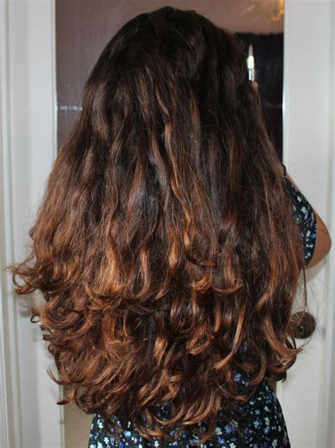 air dried curly hair styles my air dried wavy thick long hair anything and