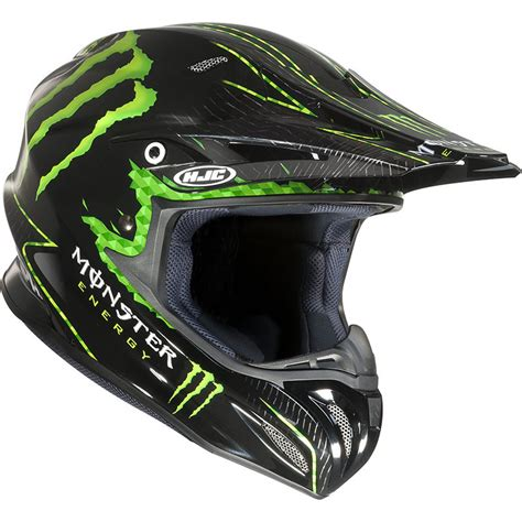 monster energy motocross helmet hjc rpha x nate adams monster energy replica motocross