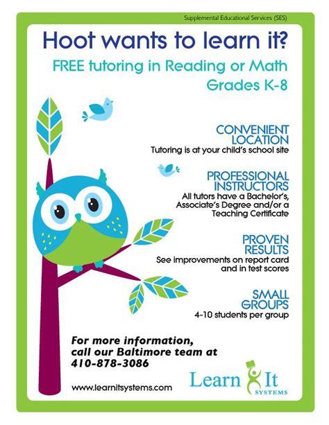 tutor flyer templates 9 best tutoring images on pinterest tutoring flyer