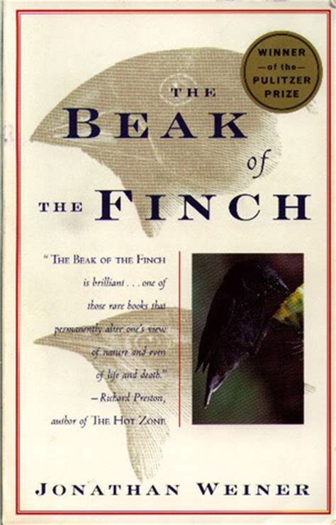 In Our Time Stories the beak of the finch a story of evolution in our time by