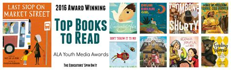 friend list books top books featured at youth media awards for 2016 the