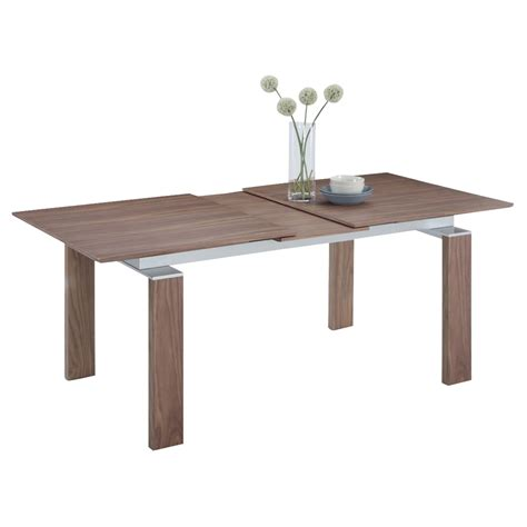 Pop Up Dining Table Pop Up Extension Dining Table Walnut Dcg Stores