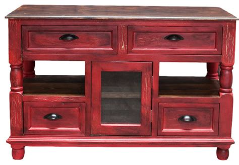 red kitchen islands rustic red kitchen island farmhouse kitchen islands