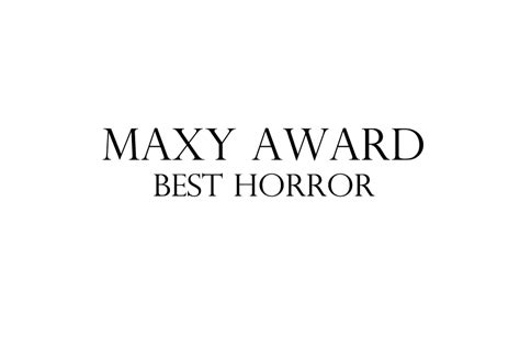 Maxy By Enter maxy awards