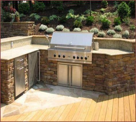 build an outdoor kitchen cinder blocks home design ideas