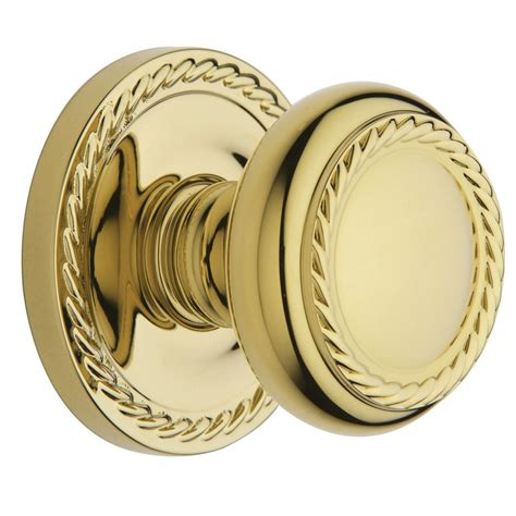Baldwin Brass Door Knobs by Shop Baldwin Polished Brass Push Button Lock Privacy