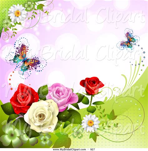 Wedding Background Clipart by Royalty Free Wedding Background Stock Bridal Designs