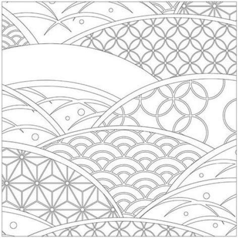 japanese pattern coloring book japanese coloring books for adults cleverpedia