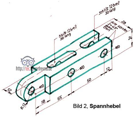 Schnittdarstellungen In Technischen Zeichnungen by Technisches Zeichnen Tec Lehrerfreund