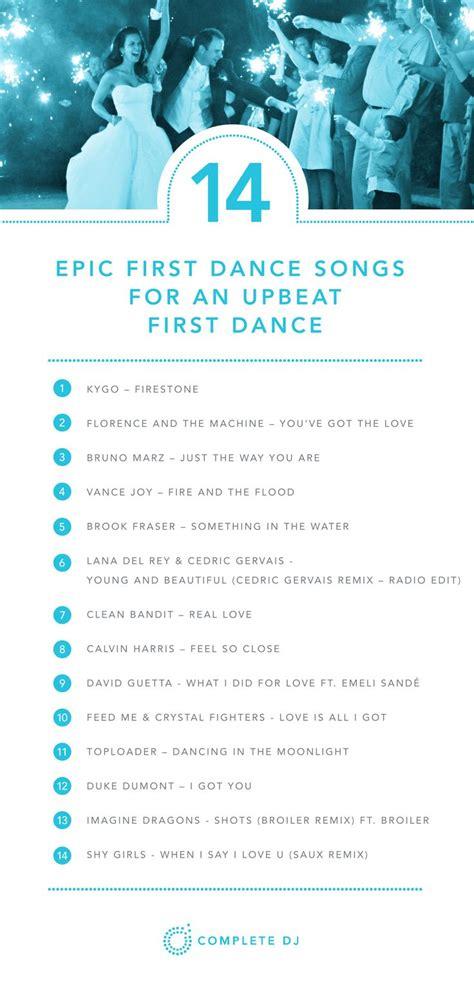 Wedding Songs List Upbeat by Best 25 Ideas On