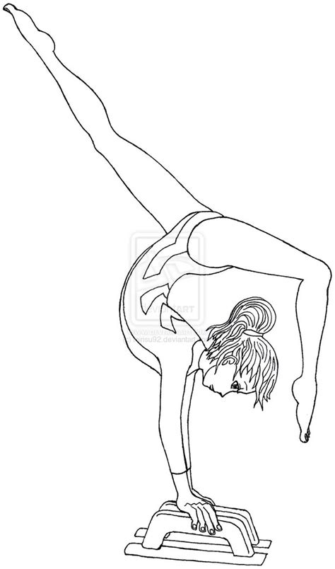 gymnastics coloring pages 37 pictures quotes and clipart