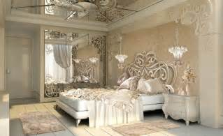 Large round mirrors for walls artistry luxury gold and cream bedroom