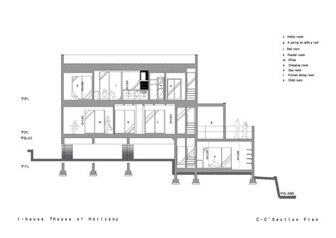 Section Of by Gallery Of I House Architecture Show 29