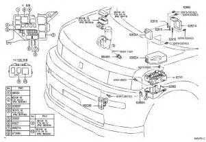 2004 scion xb hatchback 1500cc 16valve dohc efi manual switch relay