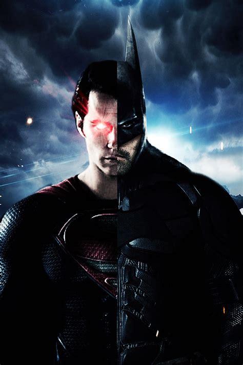 freeios batman superman  parallax hd iphone ipad