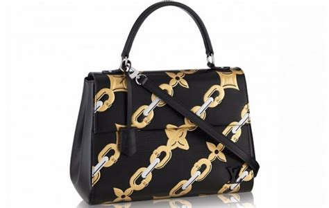 Bag Tas Louis Vuitton Cluny Mm 2 louis vuitton s cluny mm bag with chain flower motif