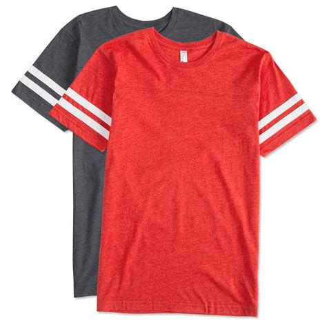 style t shirts custom lat varsity t shirt design sleeve t shirts