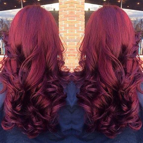 reddish purple hair color ombre hair extension archives vpfashion vpfashion