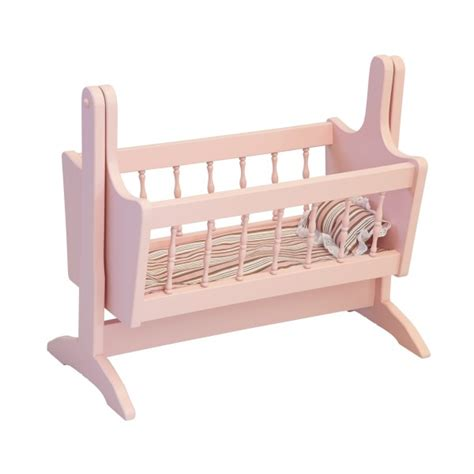 Dolls Swinging Crib by Doll Bed Amish Made Mini Doll Bed Amish Made Toys