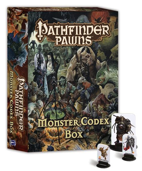 starfinder pawns archive pawn box books may152765 pathfinder pawns codex box previews