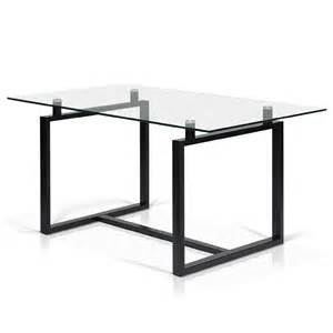 Glass Top Dining Room Tables Rectangular Acker Rectangular Glass Top Dining Table Oakville Furniture Stores Palmabrava