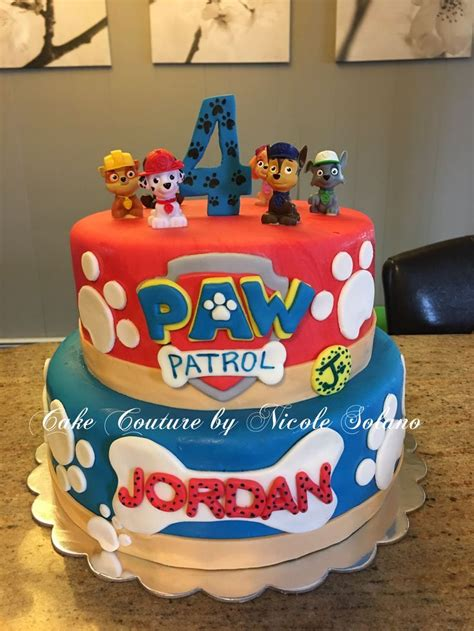 paw patrol cake decorations paw patrol cake paw patrol birthday ideas