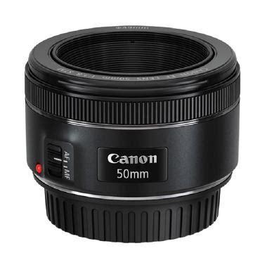 Lensa Cembung Kamera Canon jual canon ef 50mm f 1 8 stm lensa kamera harga